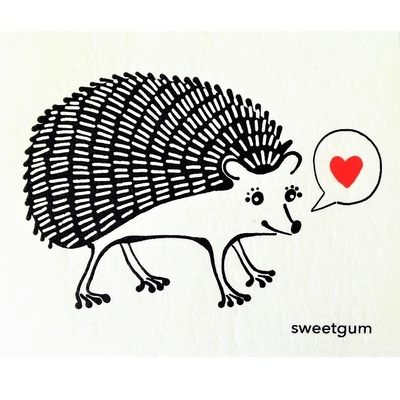 More Joy Sweetgum Hedgehog, black