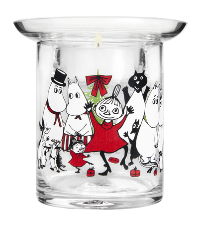 Muurla Magic winter candle holder, 10cm