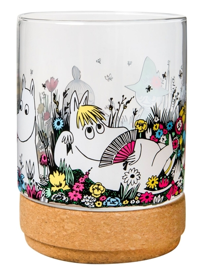 Muurla Moomin Moment together candle lantern / jar, glass, 15,5cm/1,2L