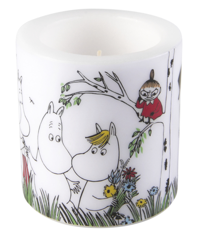Muurla Moomin candle Happy Family, 8cm