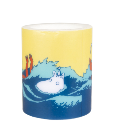 Muurla Moomin candle #OURSEA, 12cm