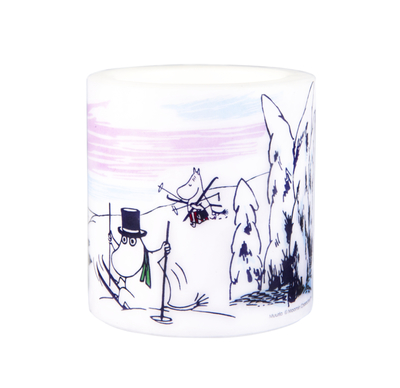 Muurla Moomin candle Winter, 8cm