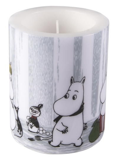 Muurla Moomin candle Winter Trip 12cm, light