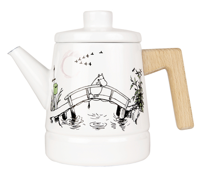 Muurla Moomin enamel coffee pot, Missing you 1,6l