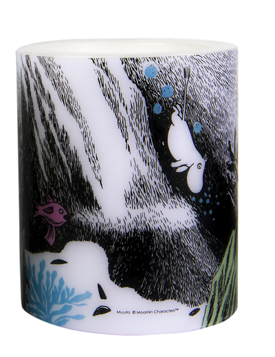 Muurla Originals Moomin candle The Dive, 12cm