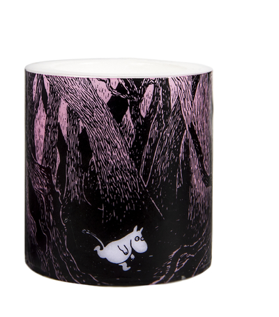 Muurla Originals Moomin candle The Rush, 8cm