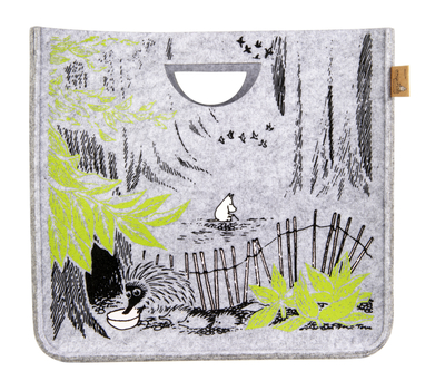 Muurla Originals Moomin decor basket Wild, grey