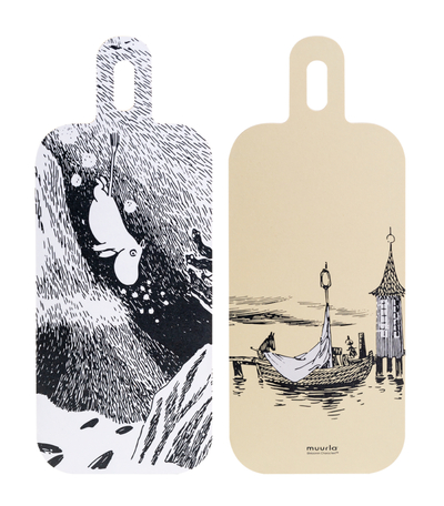 Muurla serving board Dive, 13x33cm, two-sided