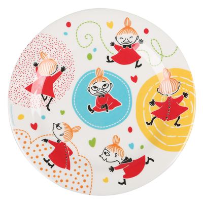 My swirls children's plate