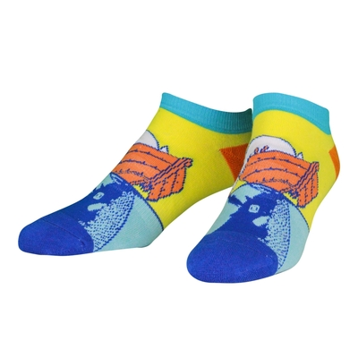 NVRLND Moomin adult's extra low-cut socks, Oursea