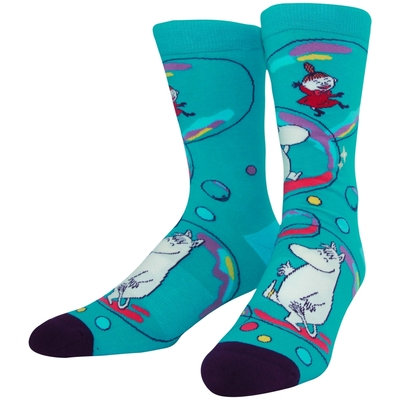 NVRLND adults' Moomin socks, Bubbles