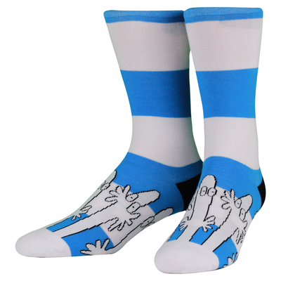 NVRLND adults' Moomin socks, Hattifattener