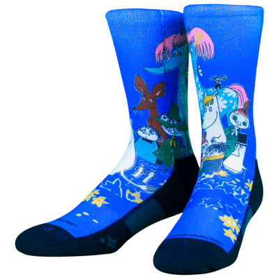 NVRLND adults' Moomin socks, Moomin group