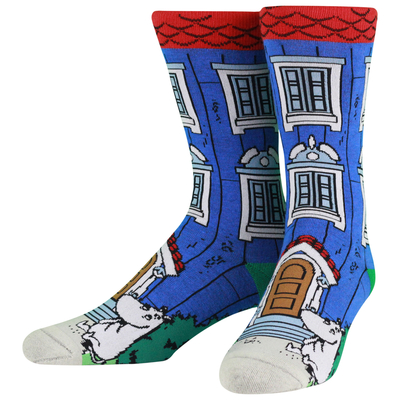 NVRLND adults' Moomin socks, Moominhouse