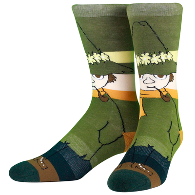 NVRLND adults' Moomin socks, Snufkin