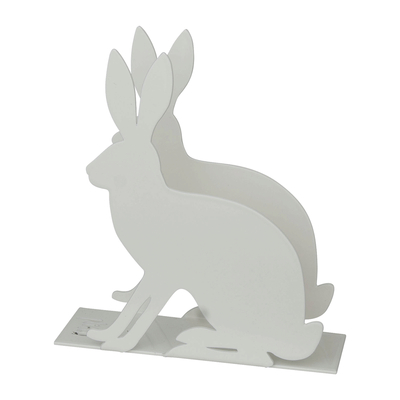 Napkin holder, Rabbit, white