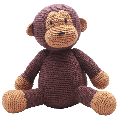 NatureZOO children's soft toy Mr. Monkey