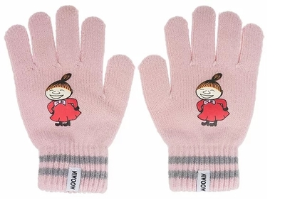 Nordicbuddies Little My Happy children's gloves, light pink