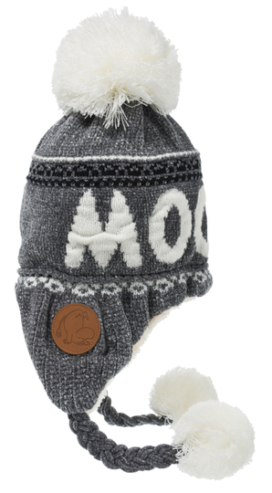 Nordicbuddies Moomin adults' winter beanie, grey