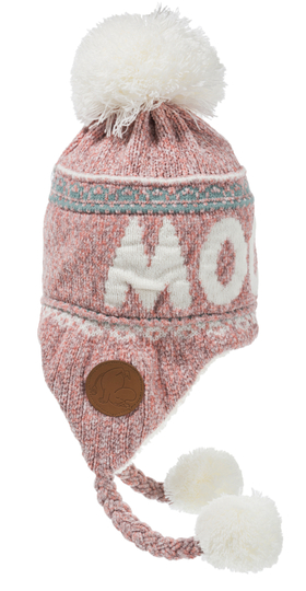 Nordicbuddies Moomin adults' winter beanie, light pink