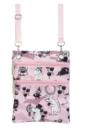 Nordicbuddies Moomin summer plays bag, light pink