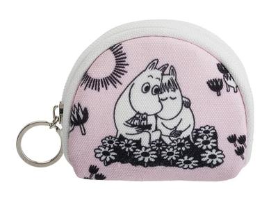 Nordicbuddies Moomins Love purse, light pink