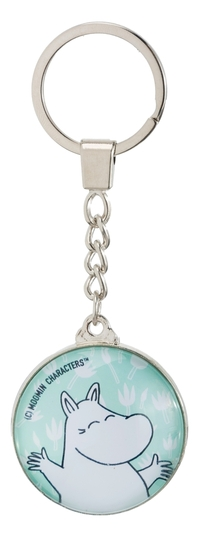Nordicbuddies Moomintroll Happiness keyring, light blue