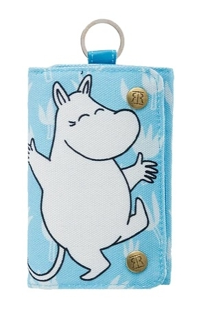 Nordicbuddies Moomintroll Happy Canvas wallet