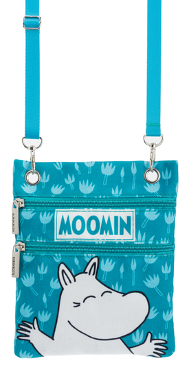 Nordicbuddies Moomintroll Happy bag, blue