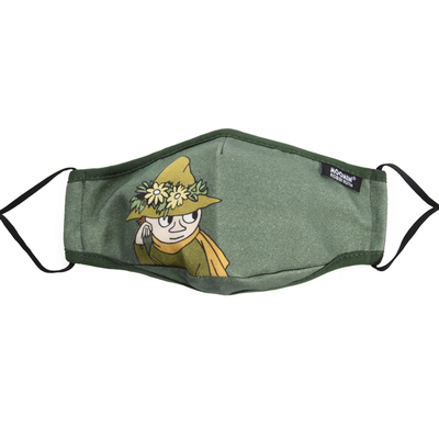 Nordicbuddies face mask Snufkin, green
