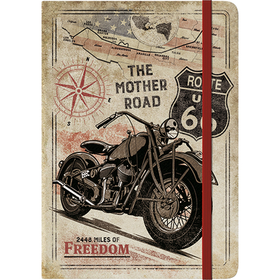 Notebook, Route 66 Bike Map