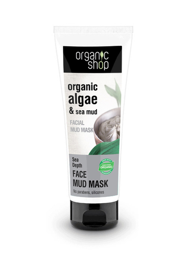 Organic Shop Sea Depth puhdistava mutakasvonaamio 75ml