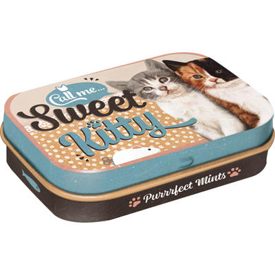 Pastille tin box Sweet Kitty