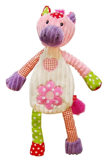 Patchwork Farm - Plushie made of corduroy 40cm, horse