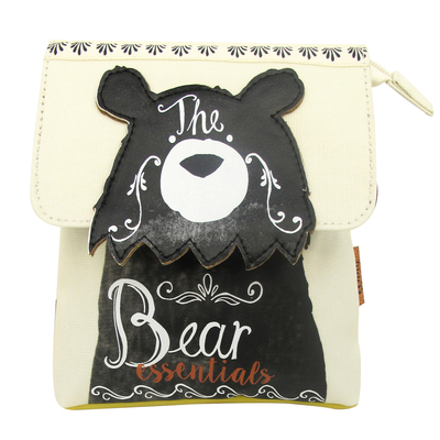 "Penny Black ""Bear essentials"" makeup bag"