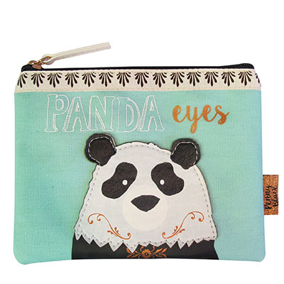 "Penny Black ""Panda"" makeup bag"