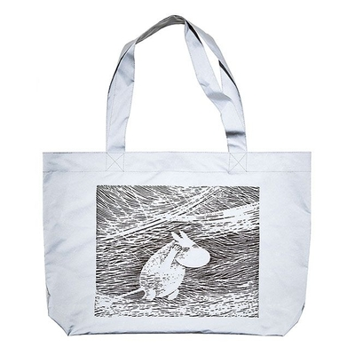 Piironki x Moomin Reflective Shopper Bag, Snow Blizzard