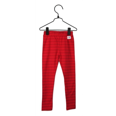 "Pikku Kakkonen children's leggings, ""Jekku"", red"