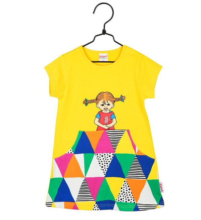 Pippi Longstocking Joy tunic-dress, colorful