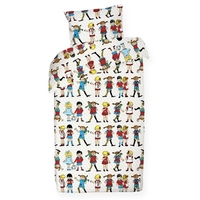 Pippi Longstocking Pippi and Friends -duvet cover set 150x210cm
