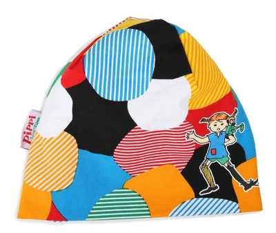 Pippi Longstocking beanie for the entire family, colourful