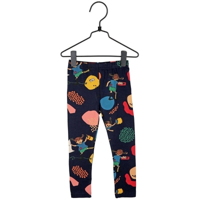 Pippi Longstocking children's leggings Lively, blue