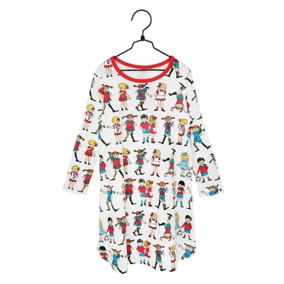 Pippi Longstocking children's nightshirt, Pippi and Friends