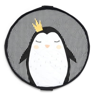 Play&Go Children's carpet play mat / toy bag Penguin