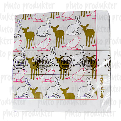 Pluto Produkter Animals Napkin, 20pc