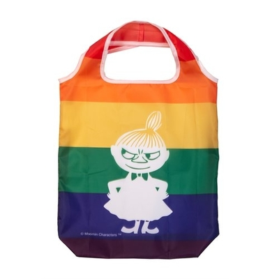 Pluto Produkter Little My shopping bag rainbow