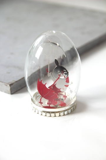 Pluto Produkter Moomin Glass decor egg, Little My