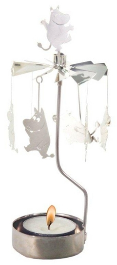 Pluto Produkter Moomin rotary Candle holder, Moomintroll