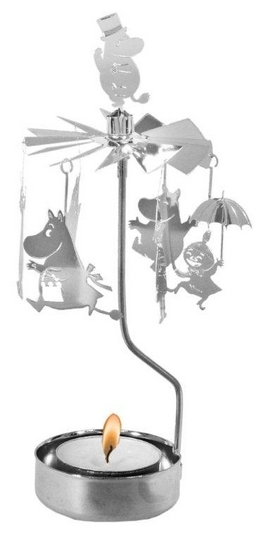 Pluto Produkter Moomin rotary candle holder, Moomin family
