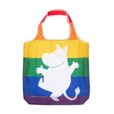 Pluto Produkter Moomintroll shopping bag Rainbow
